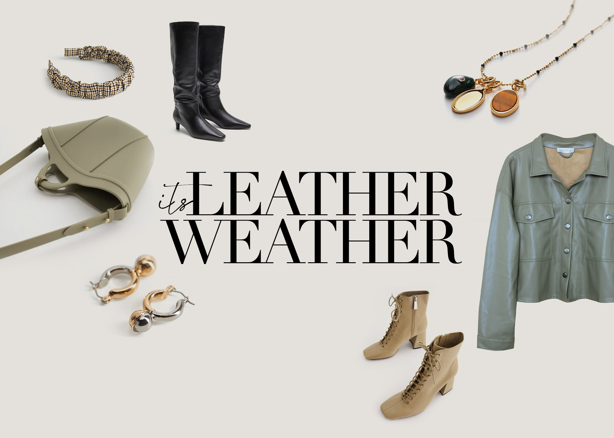 IT'S LEATHER WEATHER