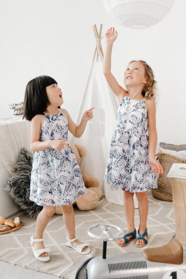 *KIDS* MIDORI EYELET DRESS