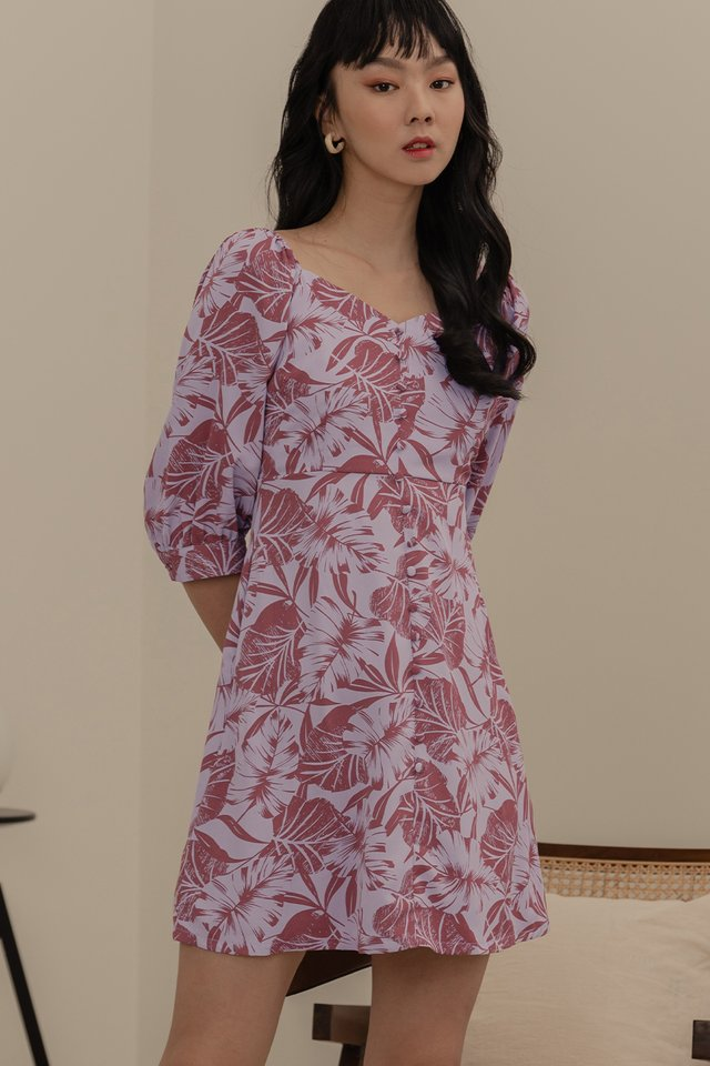 HADLEY DRESS IN ROSE
