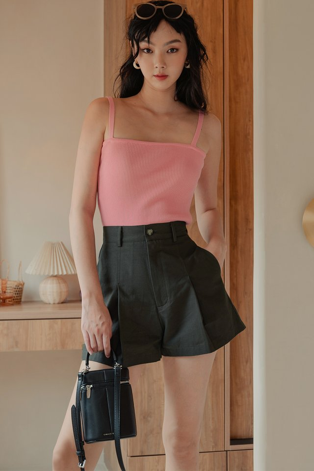 IZZY KNIT TOP IN PINK