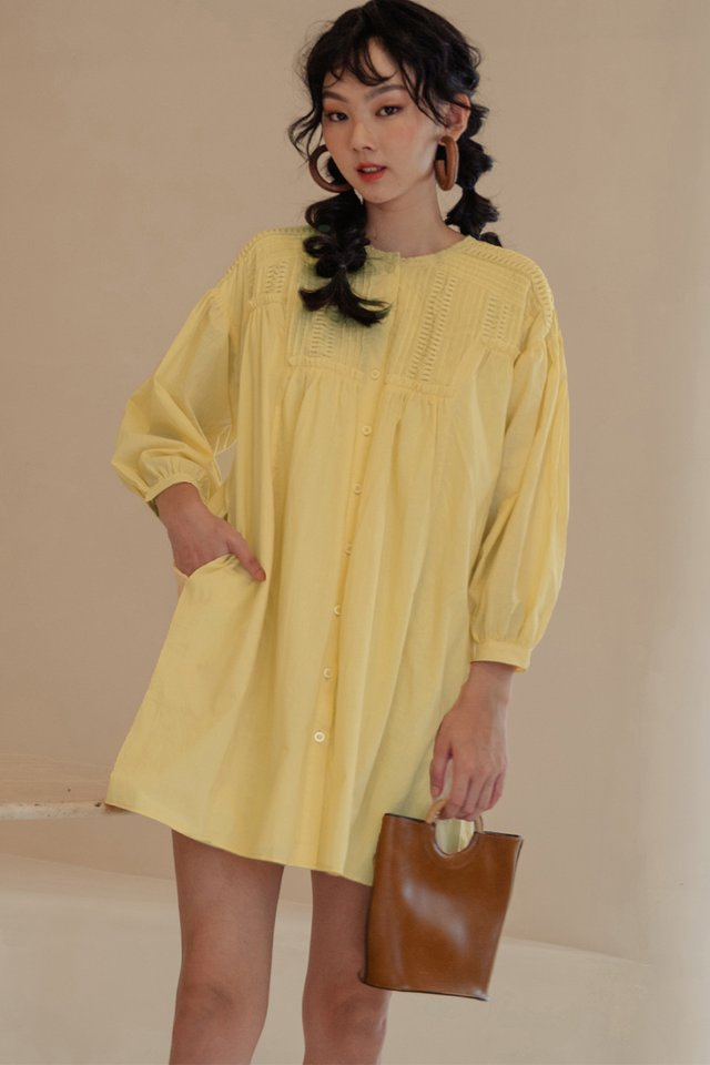 KYRA DRESS IN YELLOW