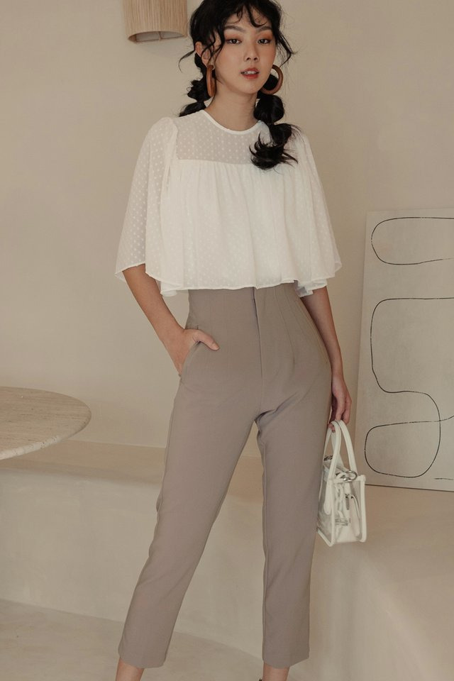 *BACKORDER* RAIKO PANTS IN TAUPE