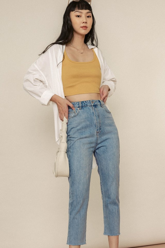 *BACKORDERS* CHESTON JEANS IN LIGHT WASH