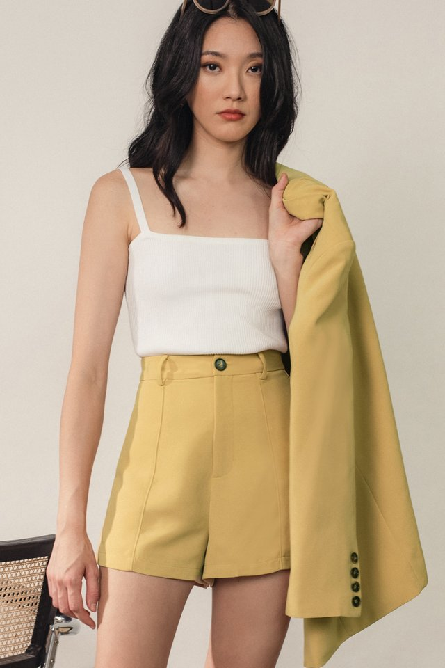 MASSON SHORTS IN MELLOW YELLOW